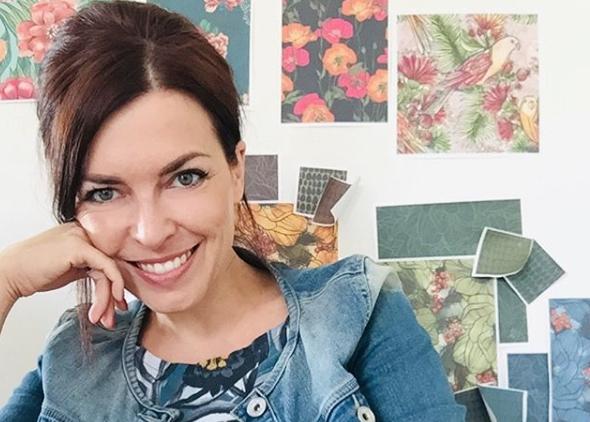 Pamela Frank Enemenemeins Diplom Designerin Textildesign Lillestoff Nähen Stoffmuster Patterndesigner